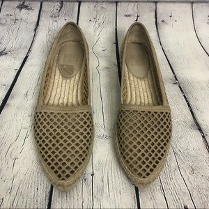 Frye Lee A Line Perf Espadrille Shoes Size 8.5